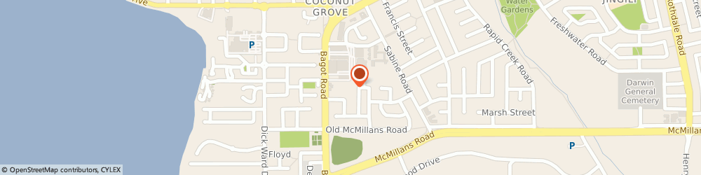 Route/map/directions to Domino's Pizza Millner, 0810 Millner, 348 Bagot Road