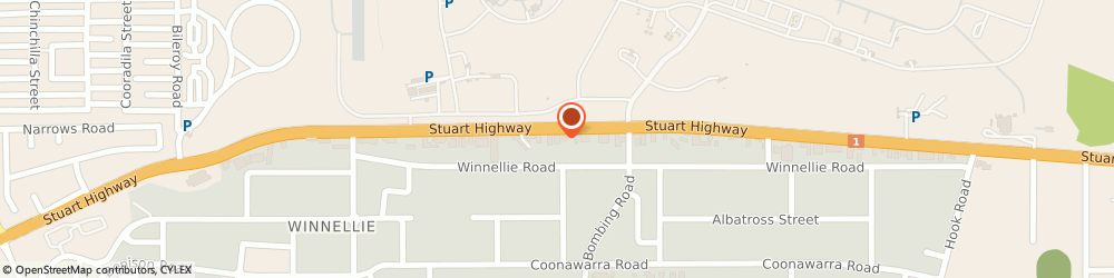 Route/map/directions to Territory Saws & Hardware Pty Ltd, 0820 Winnellie, 55  RD