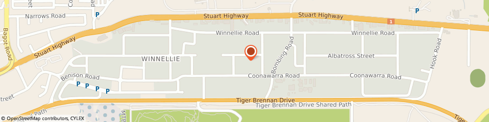 Route/map/directions to Turf & Irrigation, 0820 Winnellie, 59 Coonawarra Road