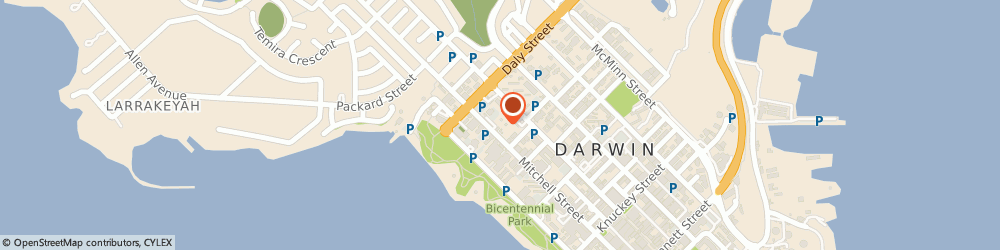 Route/map/directions to Marrakai Luxury All Suites Darwin, 0800 Darwin, 93 Smith St
