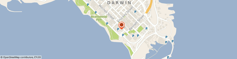 Route/map/directions to Palms City Resort, 0800 Darwin, 64 The Esplanade