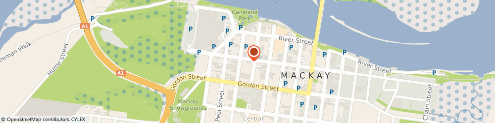 Route/map/directions to Elders Agribusiness - Mackay, 4740 Mackay, 171 Victoria Street