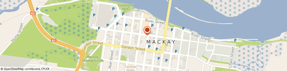 Route/map/directions to Harcourts Mackay, 4740 Mackay, 131 Victoria Street