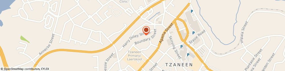Route/map/directions to Maloka Attorneys, 0850 Tzaneen, 13 Harry Dilley Street