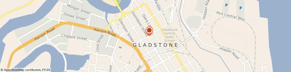 Route/map/directions to The Coffee Club GLADSTONE, 4680 Gladstone, 79 Gondoon Street