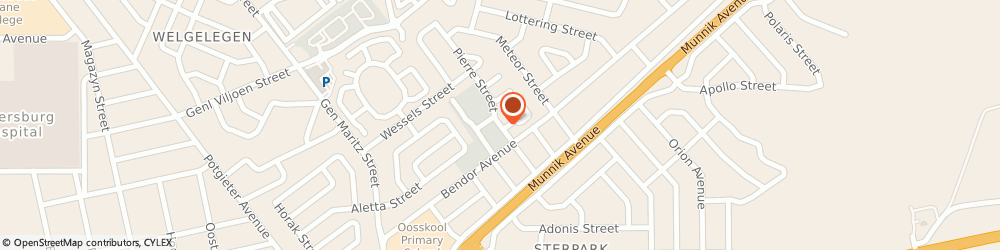 Route/map/directions to Actus Insurance Brokers, 0699 Polokwane, 10 Pierre St