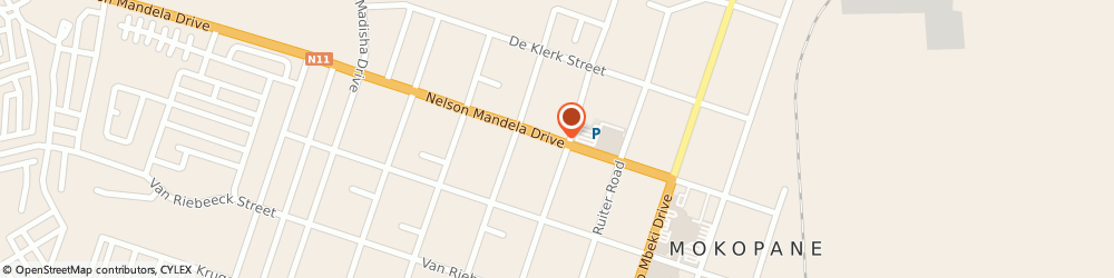 Route/map/directions to S a Furniture, 0601 Potgietersrus, 86 NELSON MANDELA RD