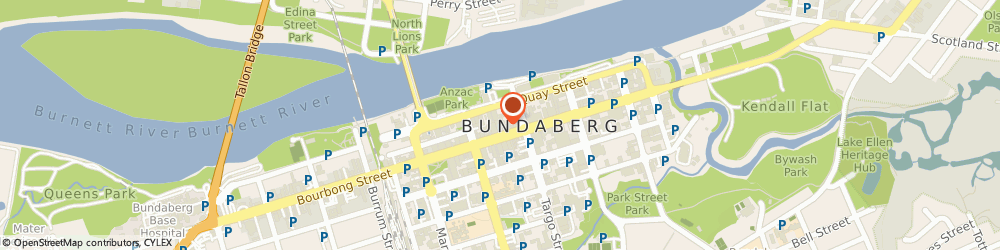 Route/map/directions to Heritage Bank, 4670 Bundaberg Central, 115 Bourbong Street