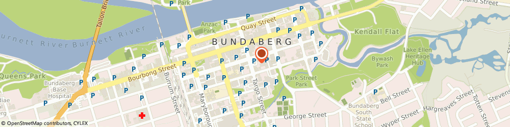 Route/map/directions to McDonald's Bundaberg, 4670 Bundaberg, 46 Targo Street