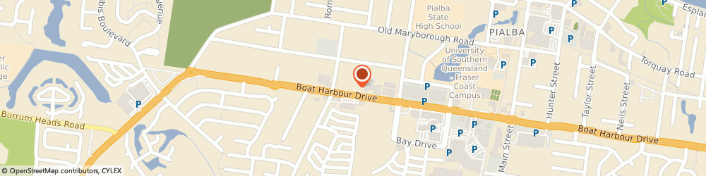 Route/map/directions to Tyreright, 4655 Pialba, 88 Boat Harbour Drive
