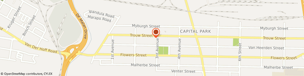 Route/map/directions to Stimteam Plumbers, 0084 Pretoria, 91 TROUW STREET,CAPITAL PARK