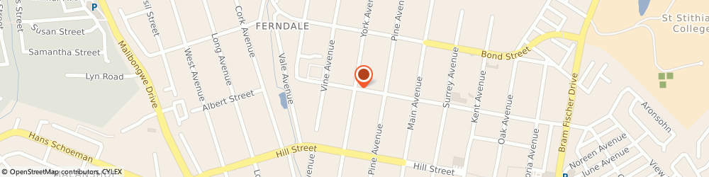 Route/map/directions to Verve Insurance Brokers, 2194 Randburg, 355 York Ave