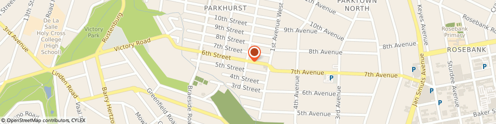Route/map/directions to Skin Renewal (Parkhurst), 2193 Johannesburg, 70 6th Street