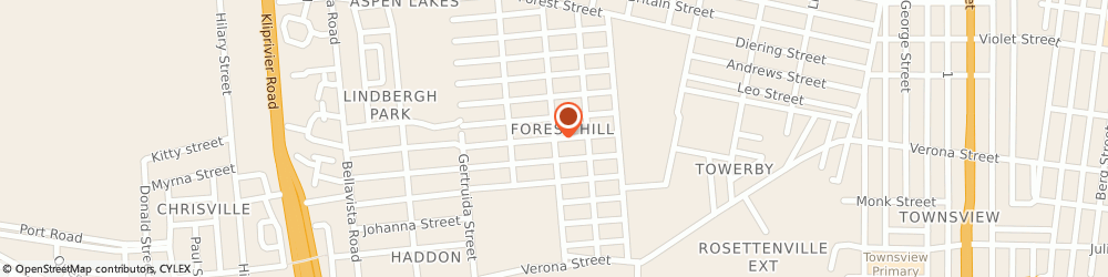 Route/map/directions to Fakkel Secondary School, 2190 Johannesburg, CARTER ROAD . FOREST HILL