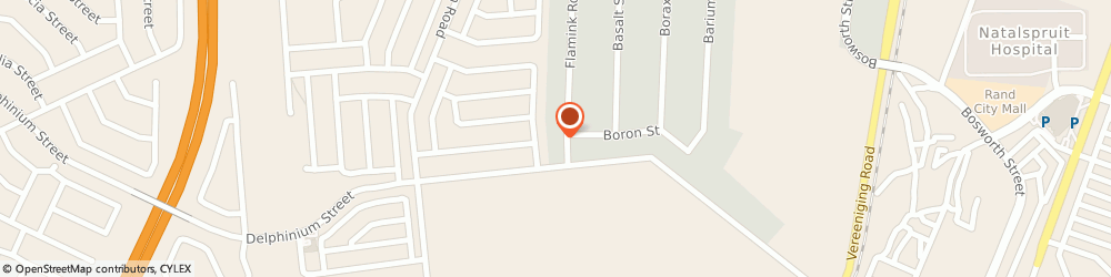 Route/map/directions to B M Building Materials, . Alrode, 36 FLAMINK ST