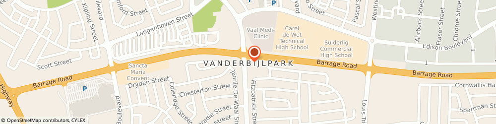 Route/map/directions to Vans Building Material, 1911 Vanderbijlpark, 4th Ave