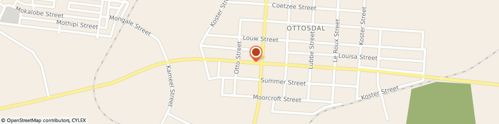 Route/map/directions to Ottosdal Pharmacy, 2610 Ottosdal, 65 Voortrekker Street