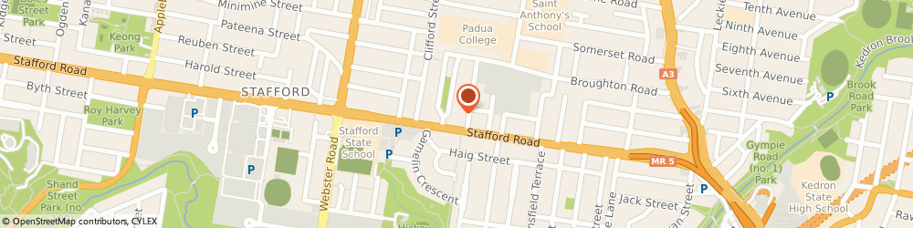 Route/map/directions to Goodstart Stafford - Childcare Centre, 4053 Stafford, 14 Lennon Street
