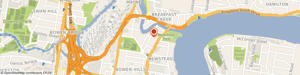 Route/map/directions to Reliance Manufacturing Co, 4006 Newstead, 40 ROSS STREET