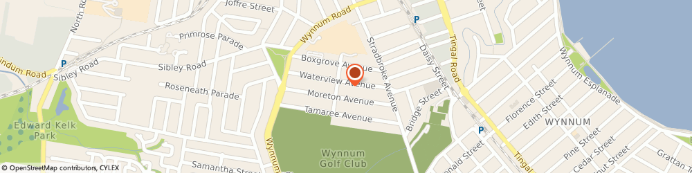 Route/map/directions to Frame-Co, 4178 Wynnum, 50 WATERVIEW AVENUE