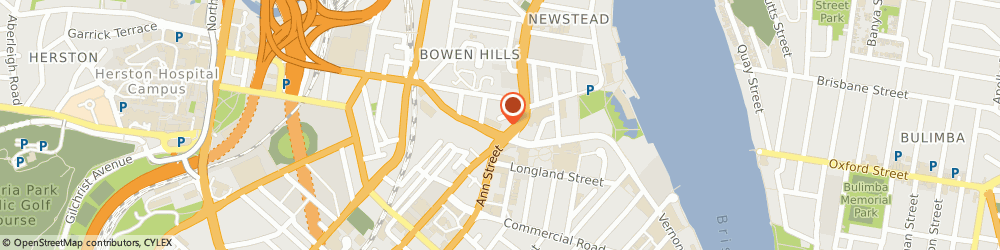 Route/map/directions to Highgrove Bathrooms - Fortitude Valley, 4006 Bowen Hills, 3 Montpelier Road