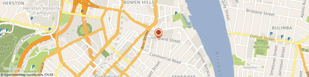 Route/map/directions to Mosaics Plus, 4006 Newstead, UNIT 3 75 LONGLAND ST