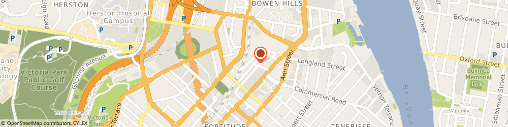 Route/map/directions to Ford Digital Agency, 4006 Fortitude Valley, 4/40 Prospect St