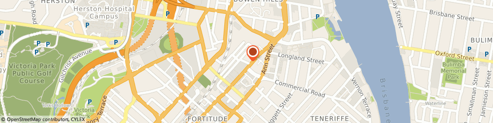 Route/map/directions to Interior Equipment, 4006 Fortitude Valley, SHOWROOM 5 LIGHT ST