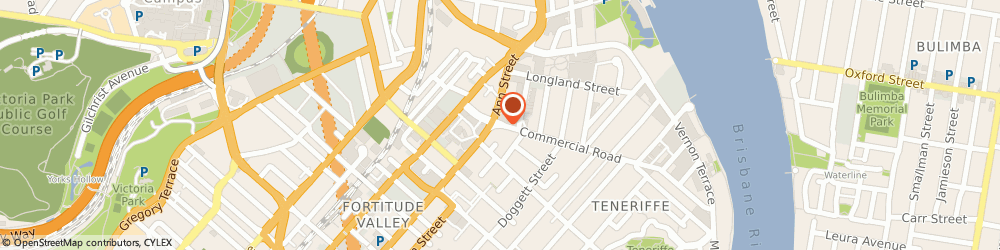 Route/map/directions to Johnson Tiles Pty Ltd, 4006 Newstead, 62 Commercial Road