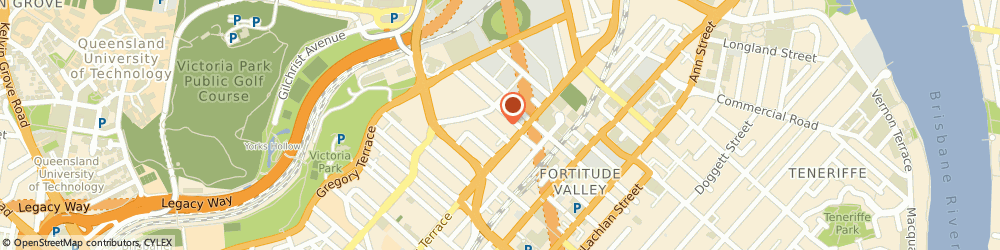 Route/map/directions to Fusion Agencies  - Sanderson Fabrics & Wallcoverings, 4006 Fortitude Valley, 29 Baxter Street