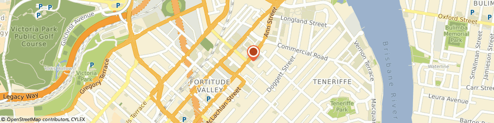 Route/map/directions to DecoRug, 4006 Fortitude Valley, 1058 Ann St