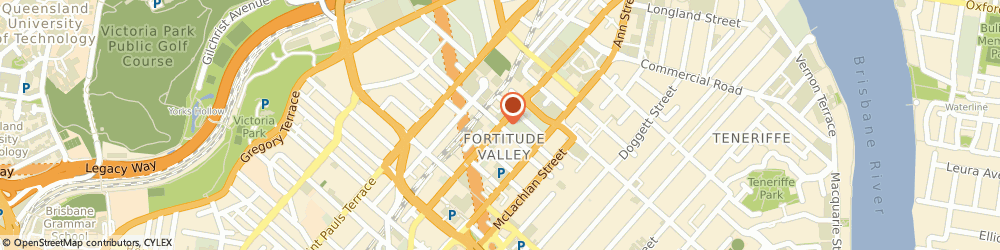 Route/map/directions to A.G. Coombs (QLD), 4006 Fortitude Valley, 1/540 Wickham St