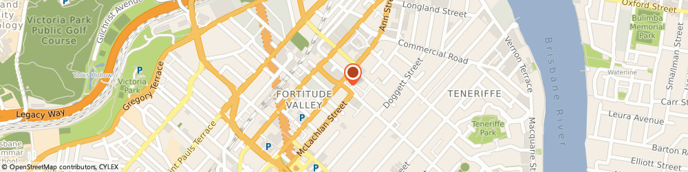 Route/map/directions to Health Place, 4006 Fortitude Valley, 15 James st