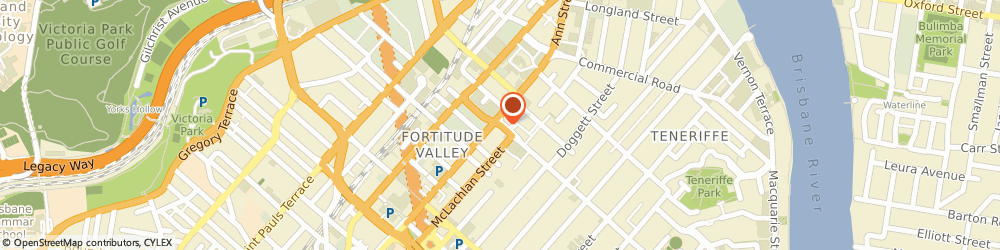 Route/map/directions to b clinic, 4006 Fortitude Valley, 29/25 James St