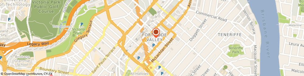 Route/map/directions to Dr. Raymond Goh, 4006 Fortitude Valley, 51 Ballow Street