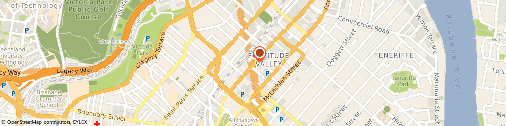 Route/map/directions to Dream Homes, 4006 Fortitude Valley, 4 Kyabra St