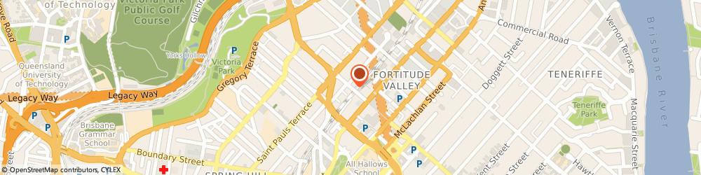 Route/map/directions to St George Bank Valley Metro O/S ATM, 4006 Fortitude Valley, 230 Brunswick St
