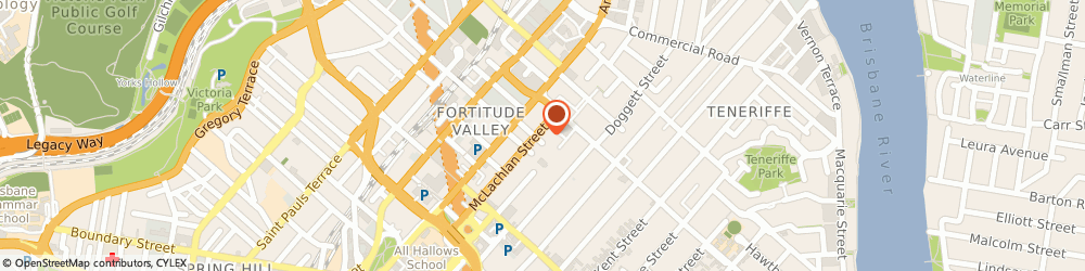 Route/map/directions to LouvreTec AUS, 4006 Fortitude Valley, 117-119 McLachlan Street