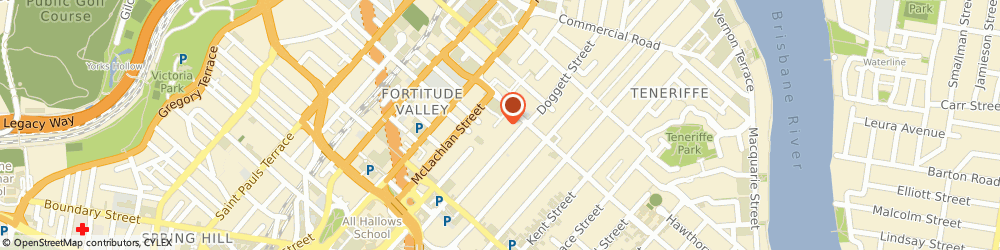 Route/map/directions to Alexanice Interior Design, 4006 Fortitude Valley, 27 James Street