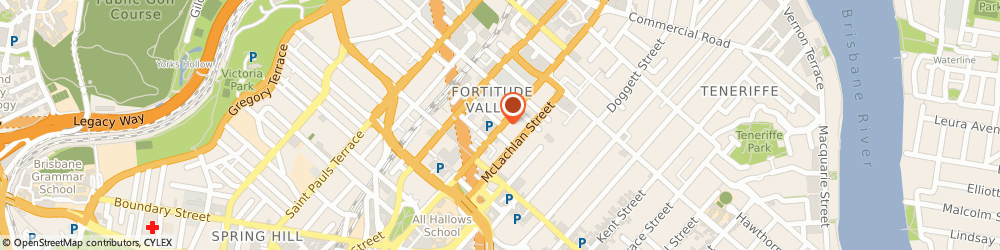 Route/map/directions to Valley Plastic Surgery, 4006 Fortitude Valley, 51 Ballow St