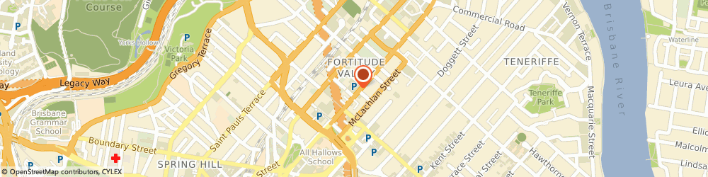 Route/map/directions to Avis Car & Truck Rental Fortitude Valley, 4006 Fortitude Valley, 728 Ann Street