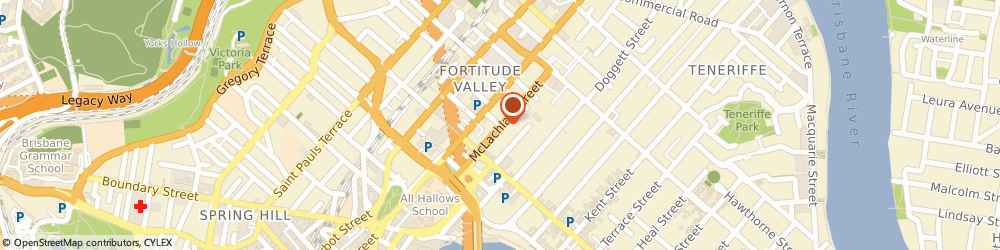 Route/map/directions to Smart Home Audio Visual, 4006 Fortitude Valley, 2/72 McLachlan St, Fortitude Valley