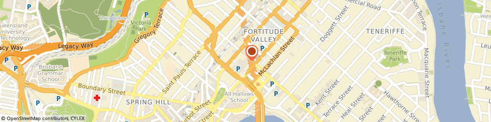Route/map/directions to ANZ ATM, 4006 Fortitude Valley, 315 Brunswick St