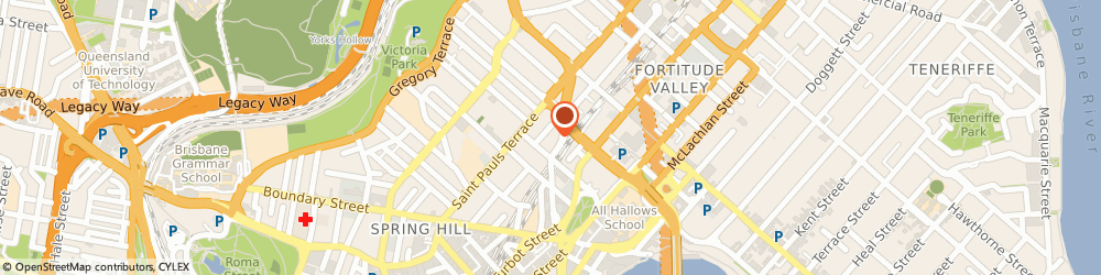 Route/map/directions to SUPER CHEAP AUTO (Fortitude Valley QLD), 4006 Fortitude Valley, 174 BARRY PARADE
