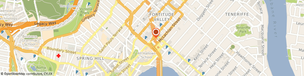 Route/map/directions to Fortuneland Real Estate, 4006 Fortitude Valley, SHOP 1, 8 DUNCAN ST
