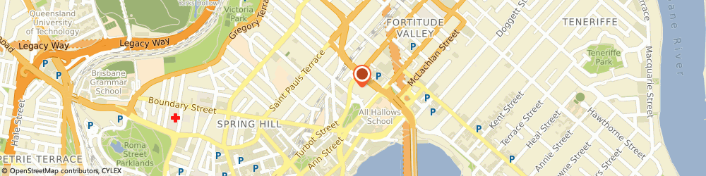 Route/map/directions to PHV Law Solicitors & Consultants, 4006 Fortitude Valley, S 25 L 1 115 Wickham St