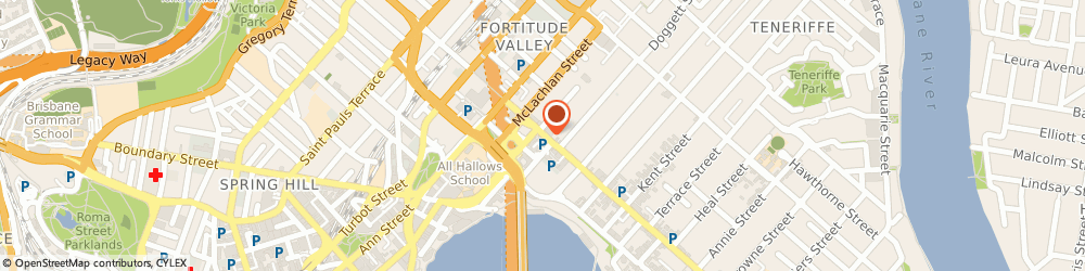 Route/map/directions to Allora Pizzeria, 4006 Fortitude Valley, 421 Brunswick St