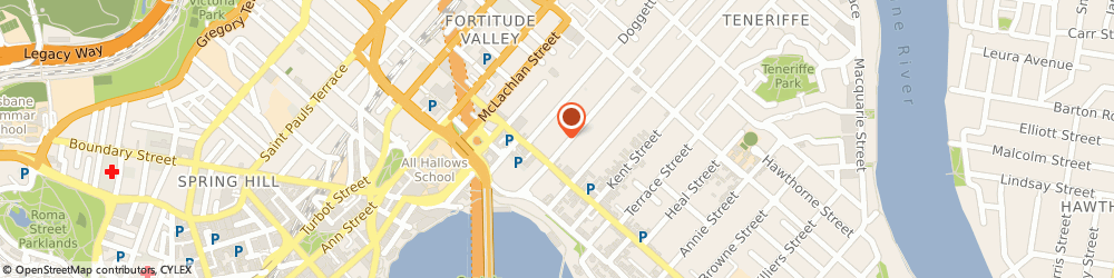 Route/map/directions to Street Images, 4006 Fortitude Valley, 34 ARTHUR ST