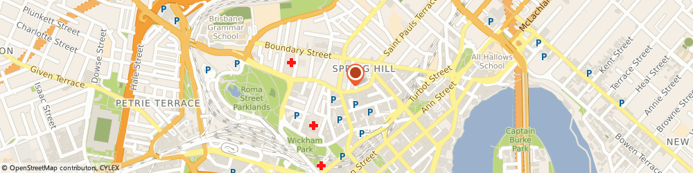 Route/map/directions to Ray White Spring Hill, 4000 Spring Hill, 126 Leichhardt Street