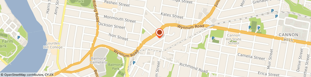 Route/map/directions to Dream Smiles Orthodontics, 4170 Morningside, Unit 2; 621 Wynnum Road